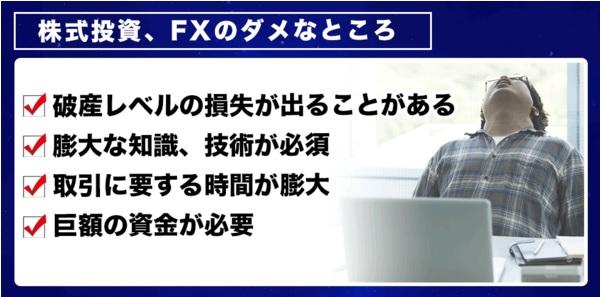 ドリーム株、FX